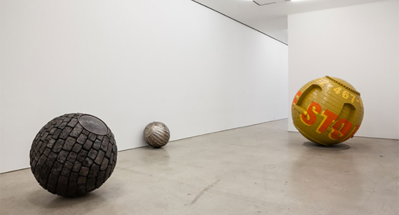 This Artist Rolled New York Up Into Balls