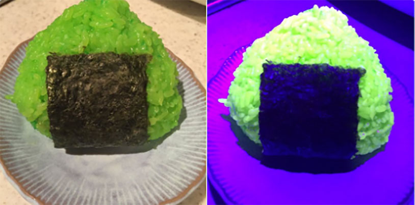 Glow In The Dark Rice Balls