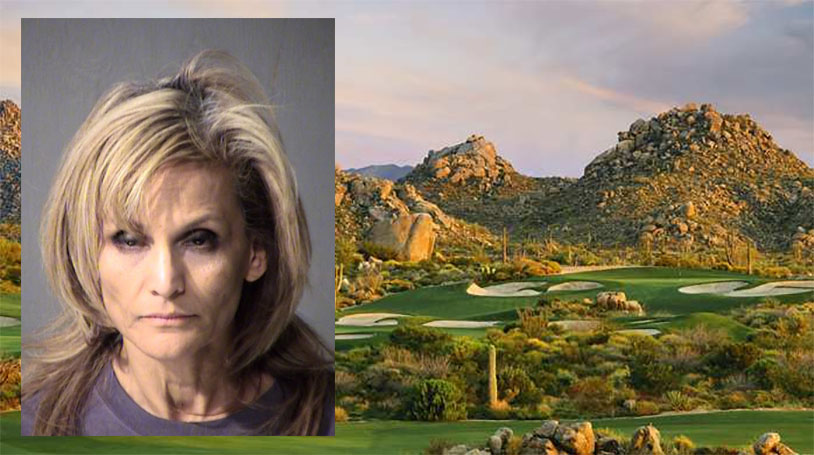 Arizona Woman Shot Balls