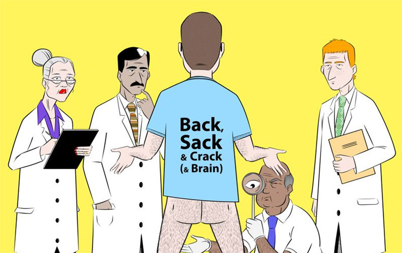 Back, Sack & Crack (& Brain) Graphic Novel