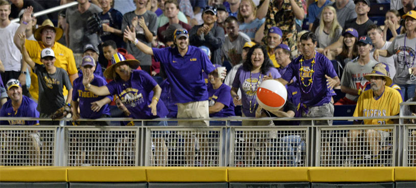 LSU Tigers Beach Ball