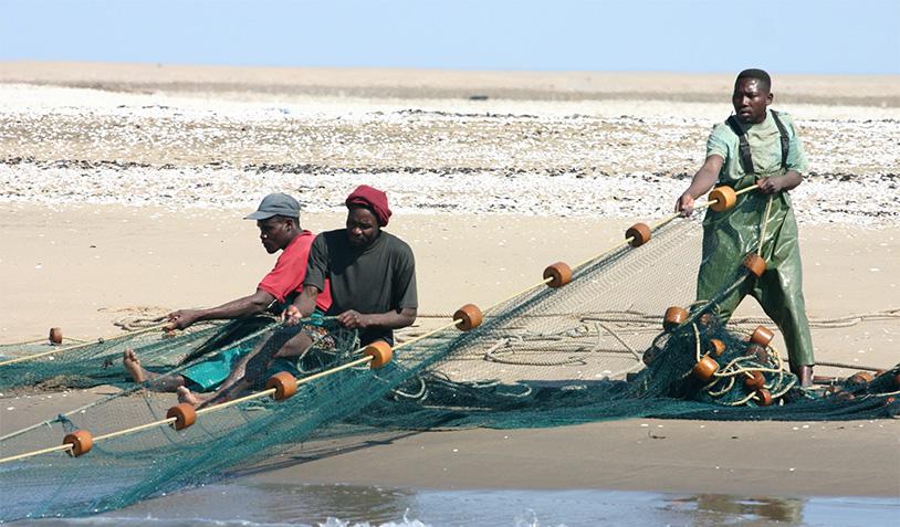 Namibian Fisherman