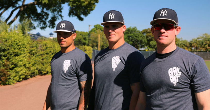 Tyler Austin Teams With Us For A Testicular Cancer Shirt