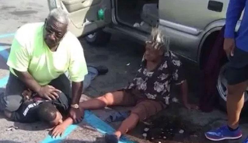 Grandma Grabs Mugger's Balls To Stop Crime