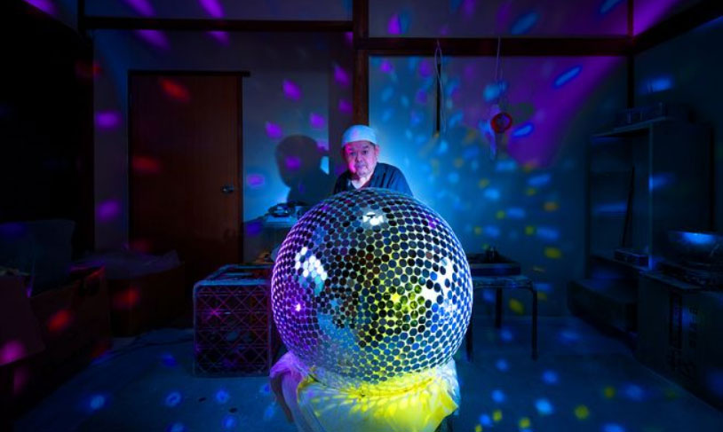 Meet Japan's Mirror Ball Master