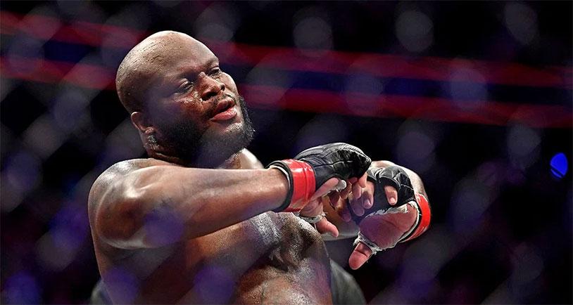 Derrick Lewis Has Hot Balls After UFC Fight