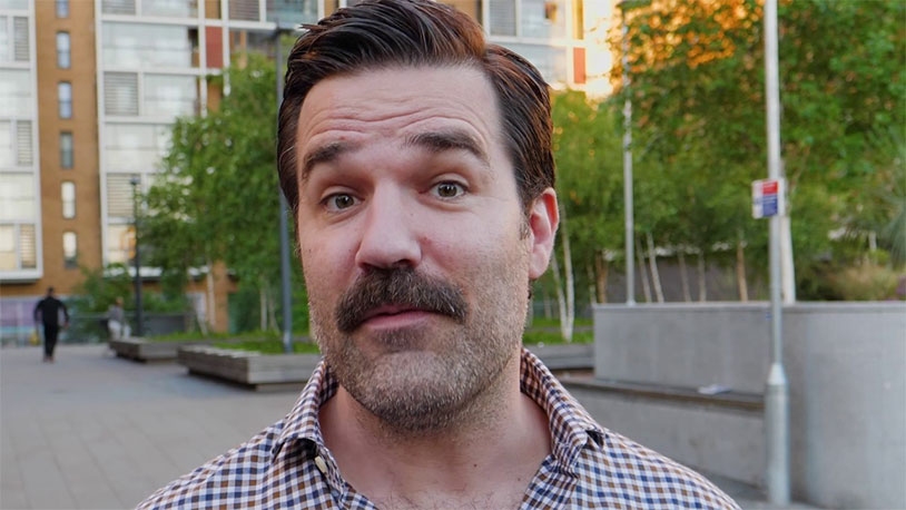 Here's Rob Delaney Talking About His Uncle's Scrotum