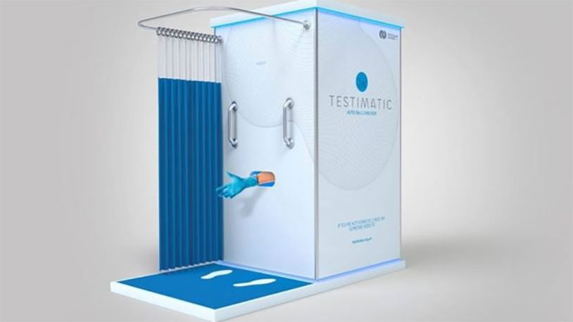 New Zealand Launches Testicle Check Booth