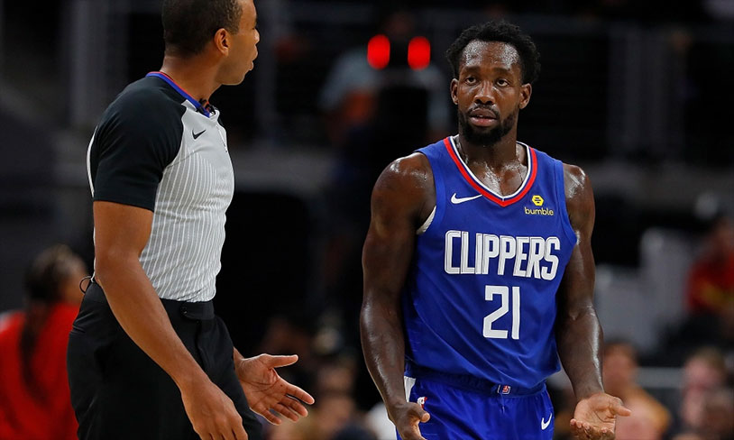 Patrick Beverley Booted From Game After Throwing Ball At Fan
