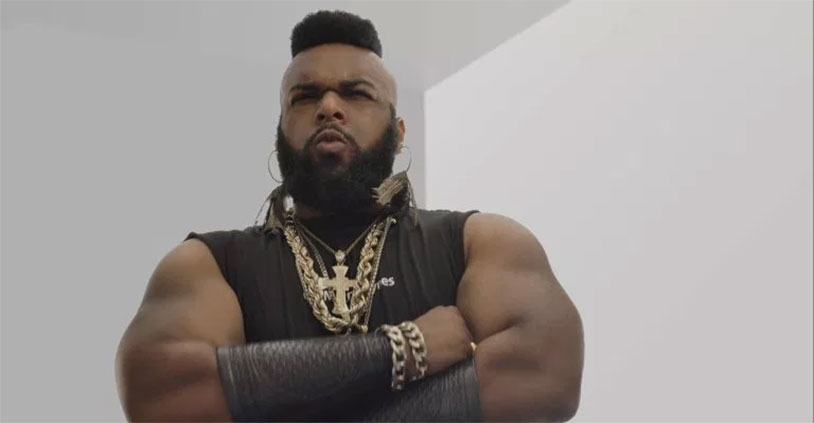 This Mr. T Lookalike Can't Eat Snickers Because He's Allergic To Nuts