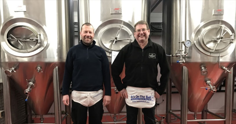 Brewer Pushing Barrel 124 Miles For Testicular Cancer