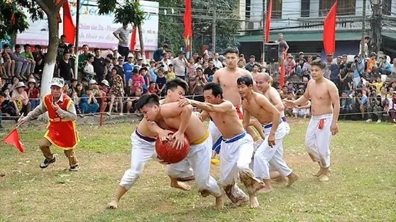This Vietnamese Ball Wrestling Festival Is Something Else