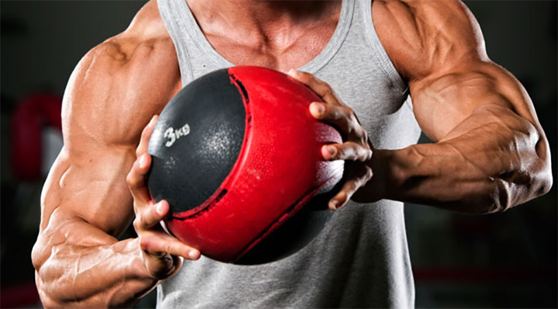 This Medicine Ball Workout Will Shred Your Abs