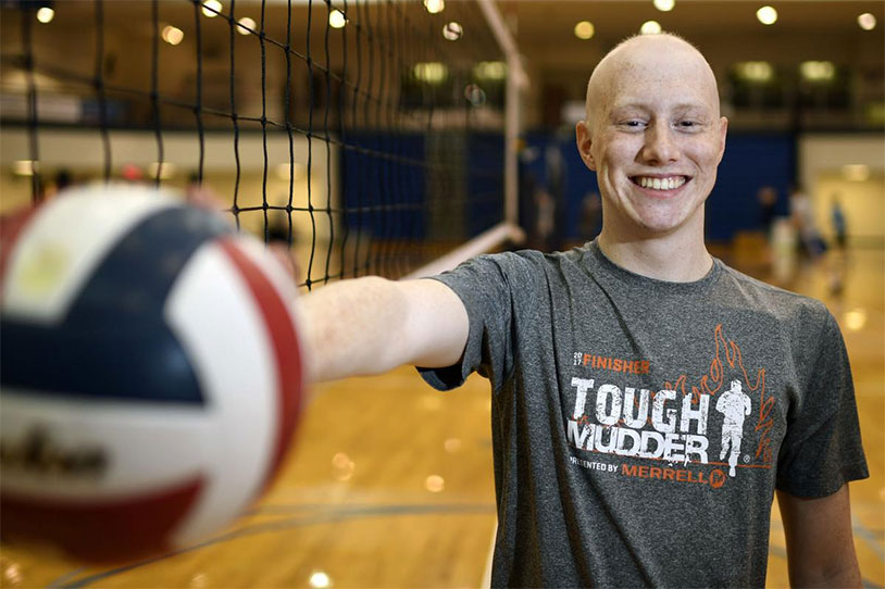 High School Student Spreading Testicular Cancer Awareness