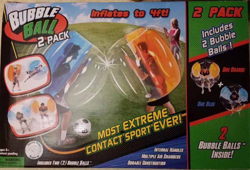 Bubble Ball Game Leads To $3 Million Lawsuit