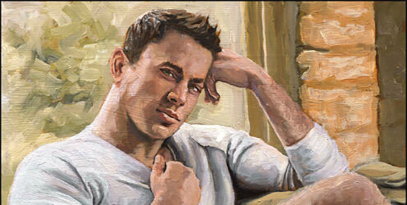 You Can Buy A Painting Of Channing Tatum With His Ballsack Out On eBay
