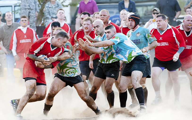 Study Finds Watching Rugby Boosts Testosterone Levels