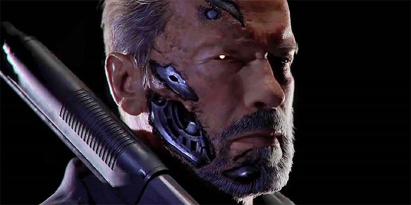 The Terminator Comes To Mortal Kombat To Crush Balls