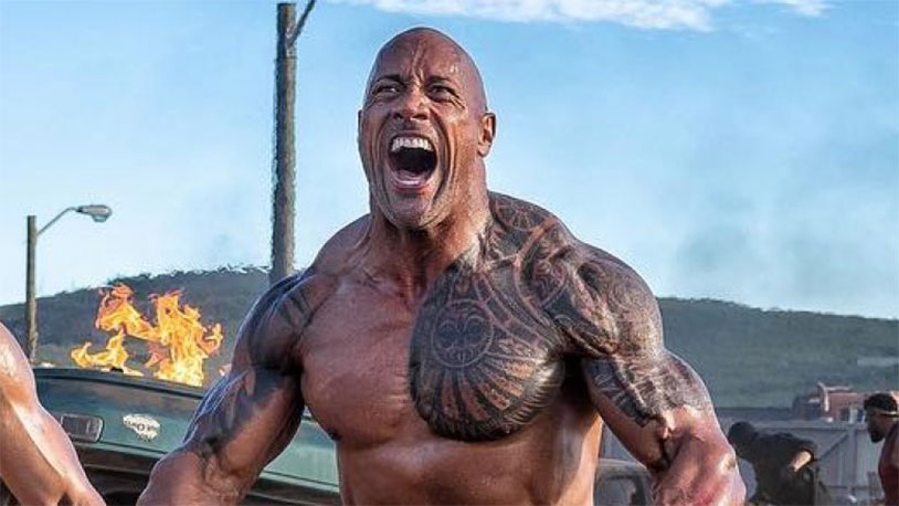The Rock Wants To Make A Candle That Smells Like His Balls
