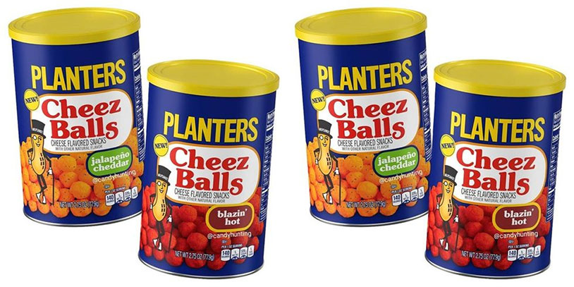 Planters Introducing Four New Cheez Ball Flavors