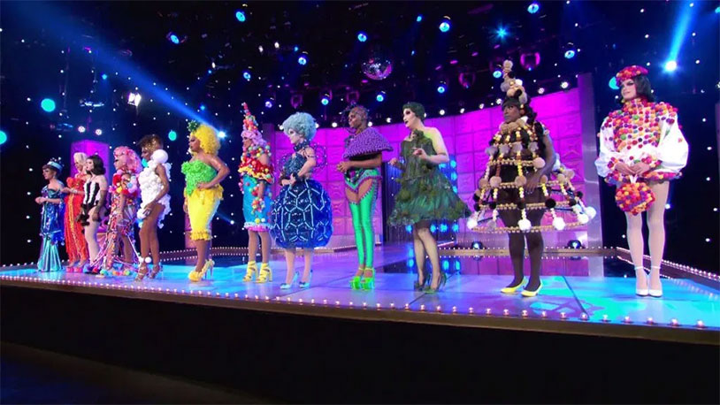 RuPaul's Drag Race Went Balls Crazy