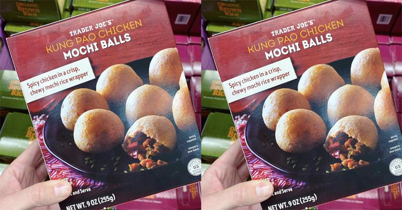 Kung Pao Chicken Mochi Balls Are The Latest Trader Joe's Treat