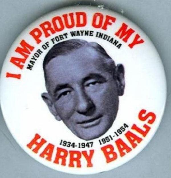 Harry Baals Button