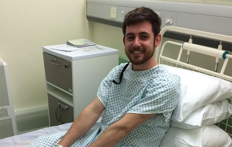 Man Who Beat Testicular Cancer Twice Helping Fund Research