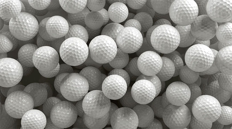 How Far Would A Golf Ball With No Dimples Fly?