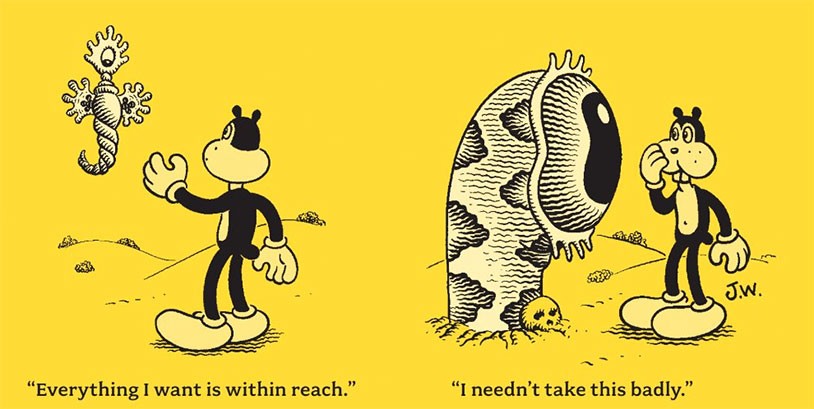 Jim Woodring, Legendary Cartoonist, Is Curious About Your Gonad