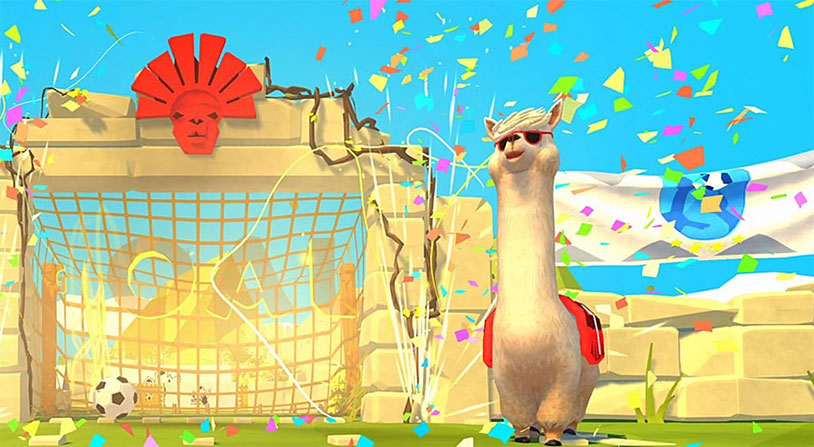 Alpaca Ball: Allstars Looks Like Fun