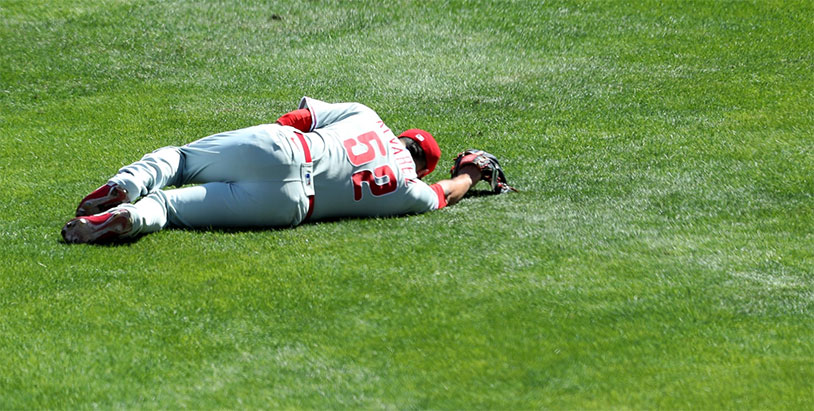 Phillies' Jose Alvarez Sidelined With Testicle Bruise