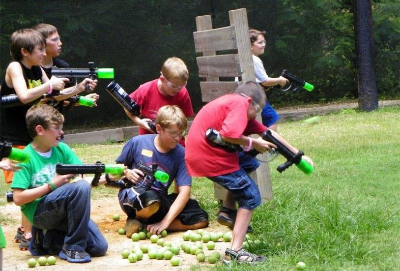 We Want To Play Bazooka Ball