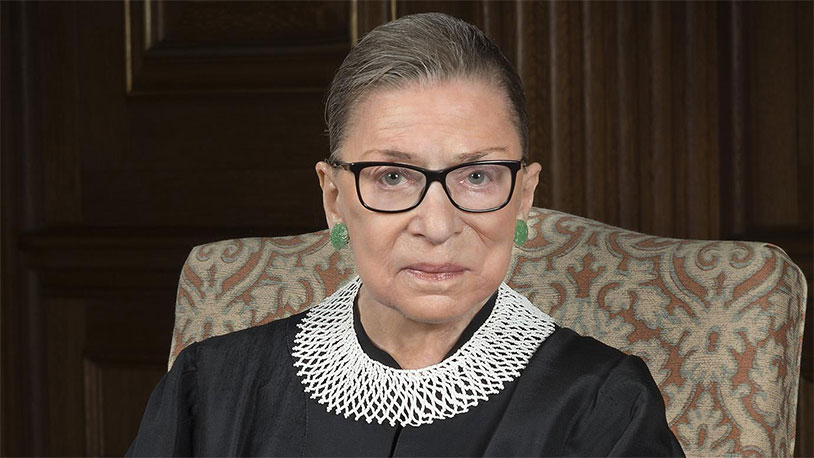 Remembering Ruth Bader Ginsburg's Connection To Testicular Cancer