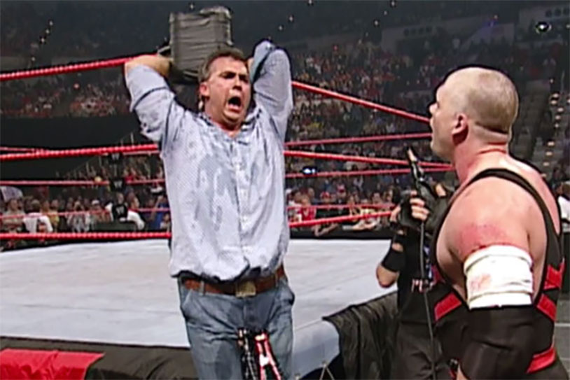 Remember When Kane Electrocuted Shane McMahon's Balls?