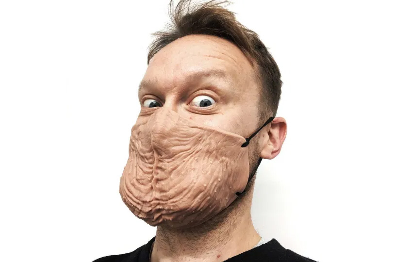 Would You Wear A Testicular Face Mask?